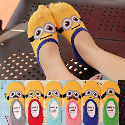 **Just Pay Small Shippping** Women Minions Socks