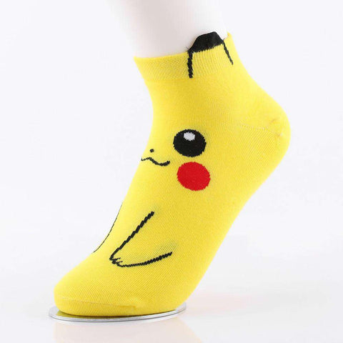 **Just Pay Small Shippping** Pokemon Pikachu Duck Socks