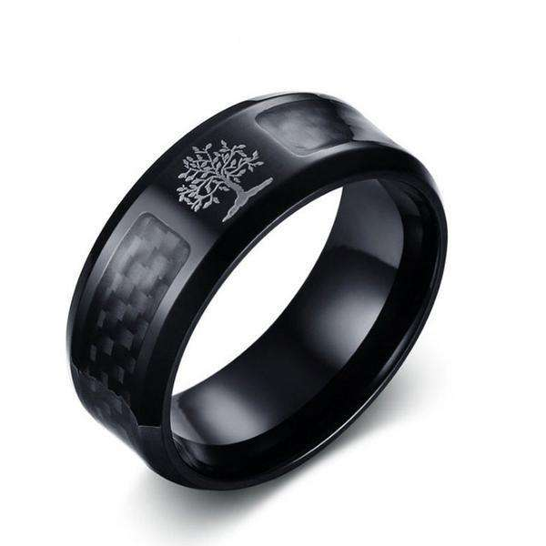 **30% Discount** Stainless Steel Life Tree Ring