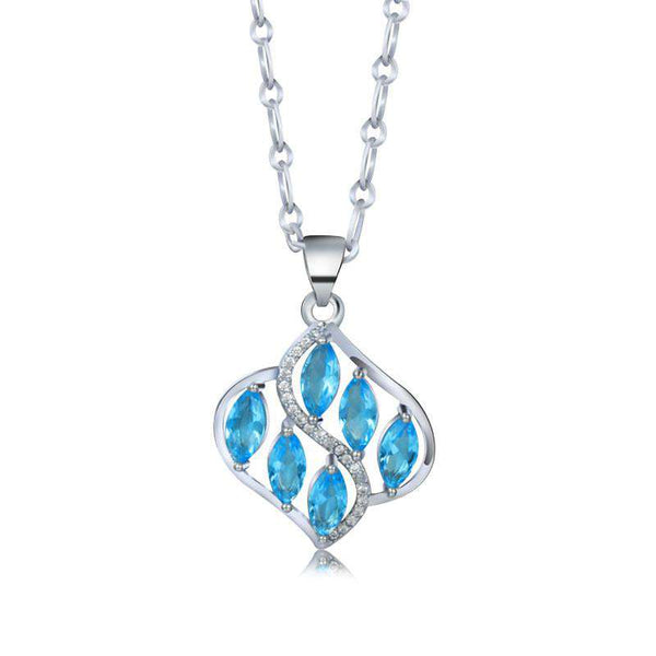 **28% Discount** Crystal Water Dropping Necklace