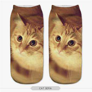 **Just Pay Small Shippping** Lovely Sleeping Cat Leisure Socks