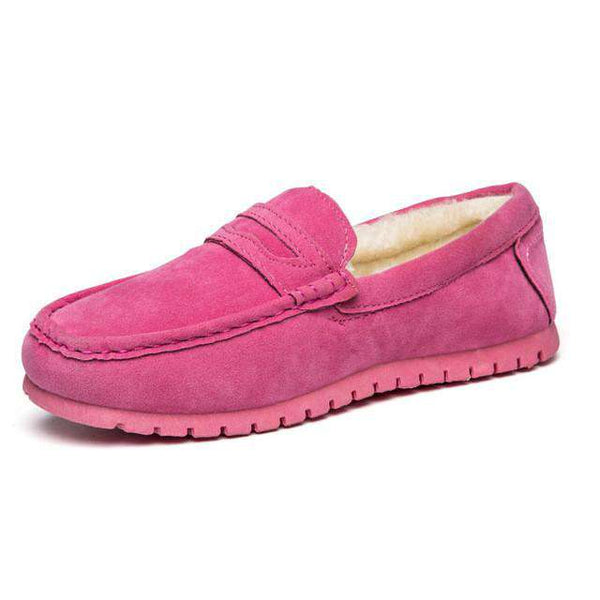 ZOCN Unisex Loafers Ladies Ballet Flats Casual Ladies Shoes