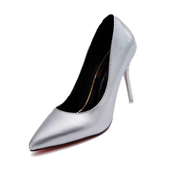 **25% Discount** High Heel Women Leather Shoes