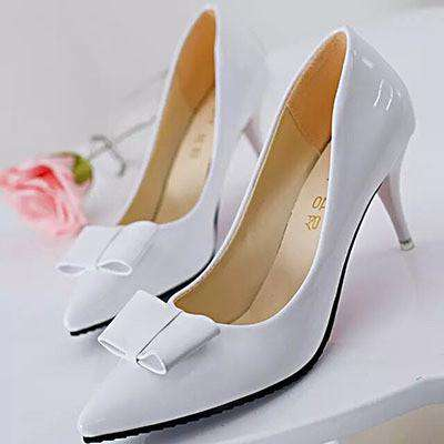 **28% Discount** Bow Pointed Toe Pumps Women Shoes
