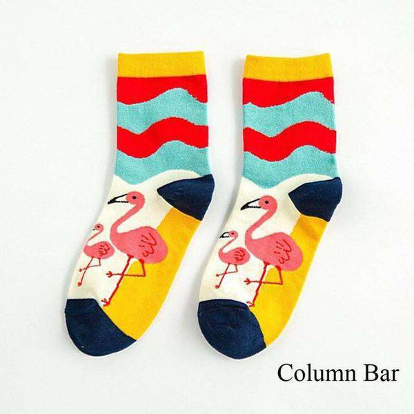 **Just Pay Small Shippping** Lovely Pink Bird Socks