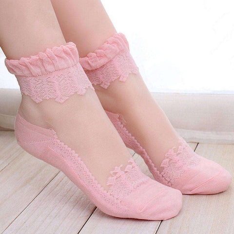 **Just Pay Small Shippping** Lace Cute Fashion Socks