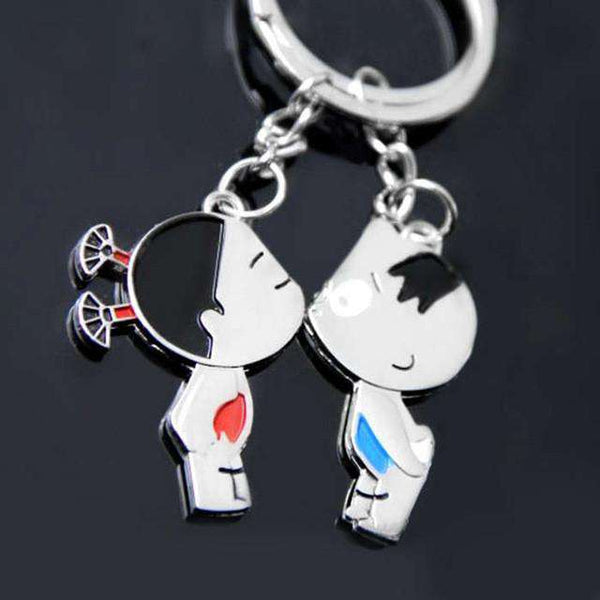 Cool Lovers Keychain