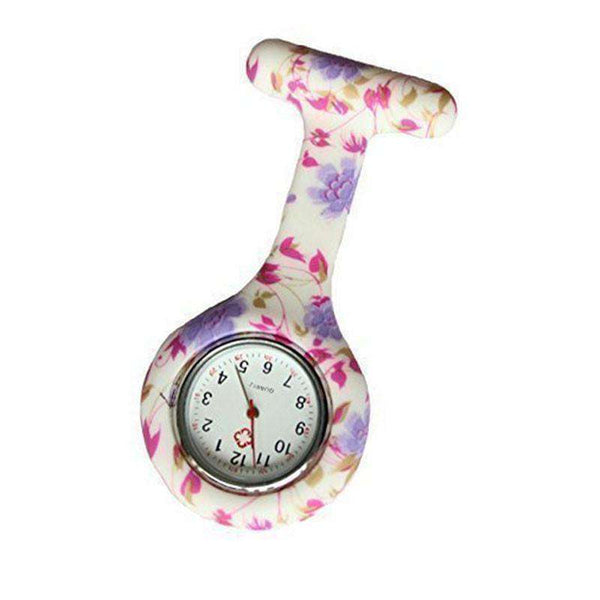 Fashion Floral Nurse Watch