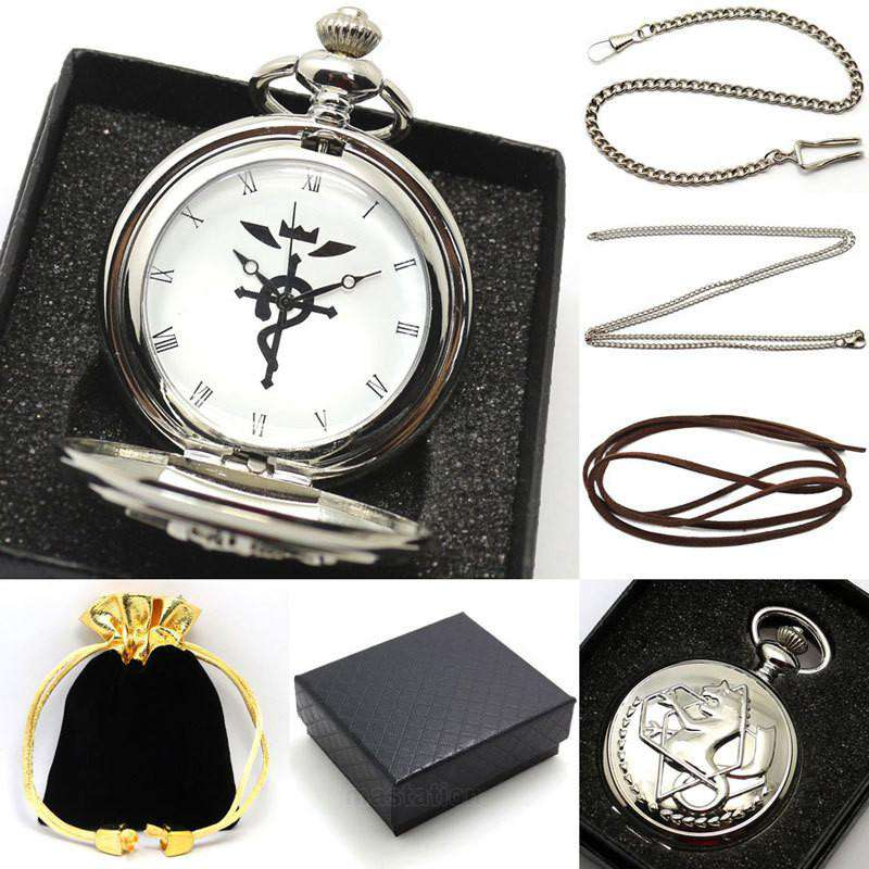 "<b class=""blink_me"">**42% Discount**</b><br>Fullmetal Alchemist Watch"