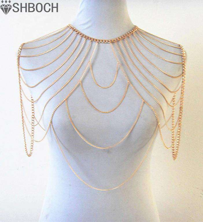 Shoulder Necklace