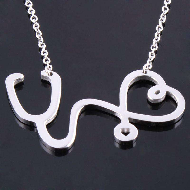 Fashion Medical Stainless Steel Necklace