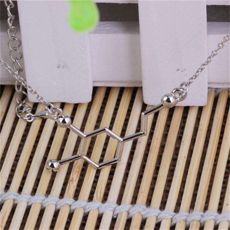 **55% Discount** DNA Molecule Necklace