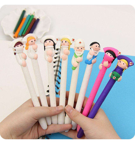 "<b class=""blink_me"">**60% Discount**</b><br>Cute Doctor Nurse Pen"