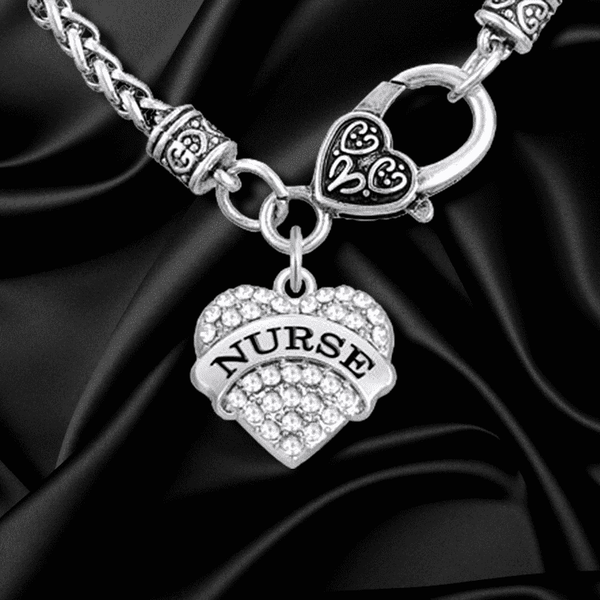 **25% Discount** Crystal Heart Charm Necklace