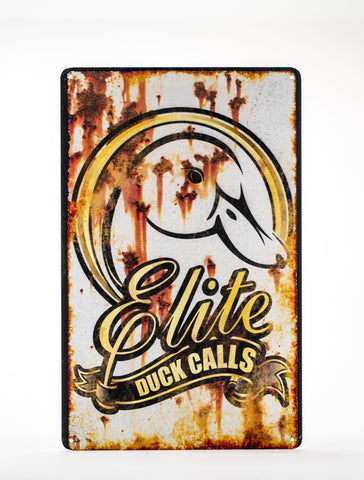 Rustic Logo Metal Sign