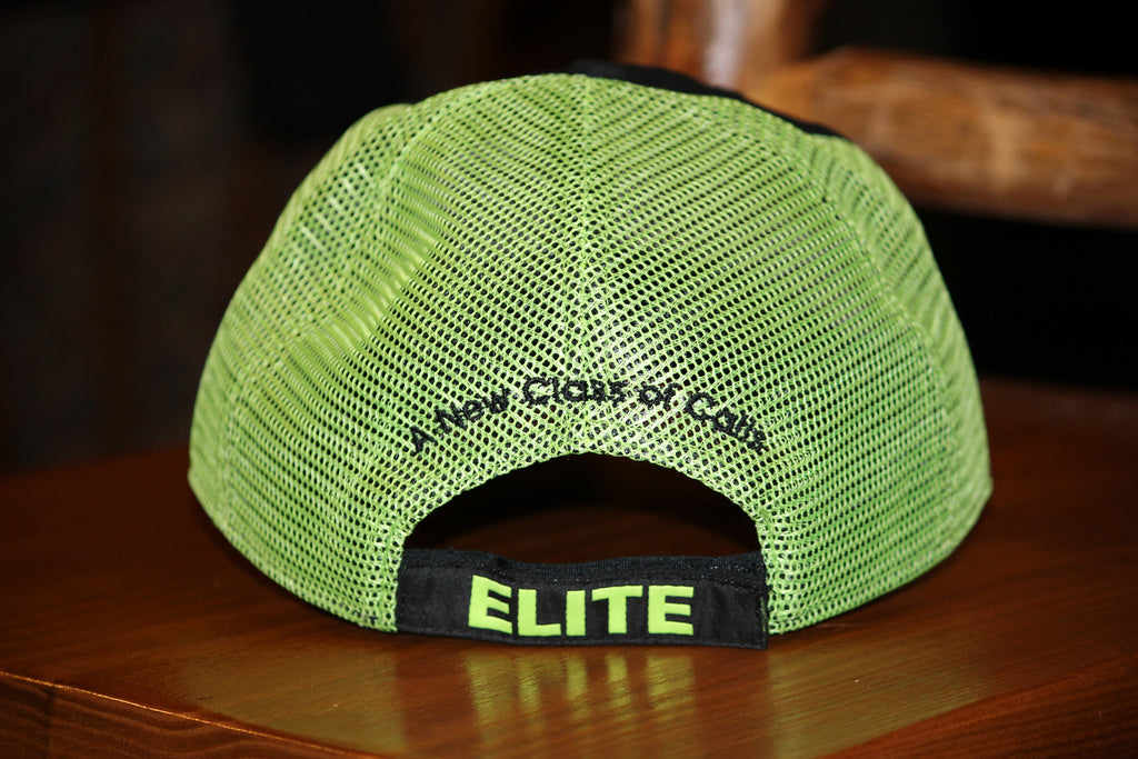 Night Black/Chartreuse Hat