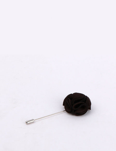 March Black Rose Lapel Pin