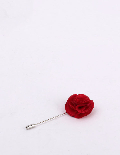 March Red Rose Lapel Pin