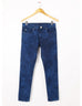March Random Acid Wash Regular Fit Denim Jeans with Golden Button for Men