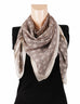 Nurai Silk Optical Printed Scarf - Beige