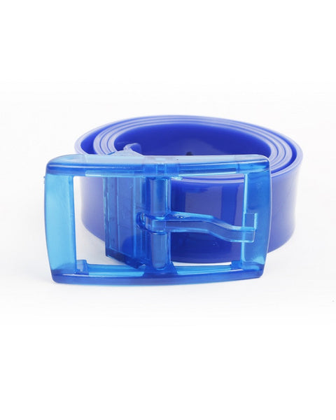March Blue Silicon Belt for Women