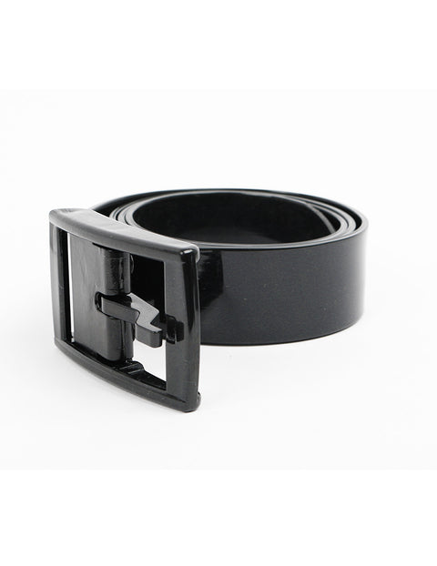 March Black Silicon Belt for Women