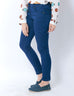 March Ink Blue Stretch Skinny Jeans for Women