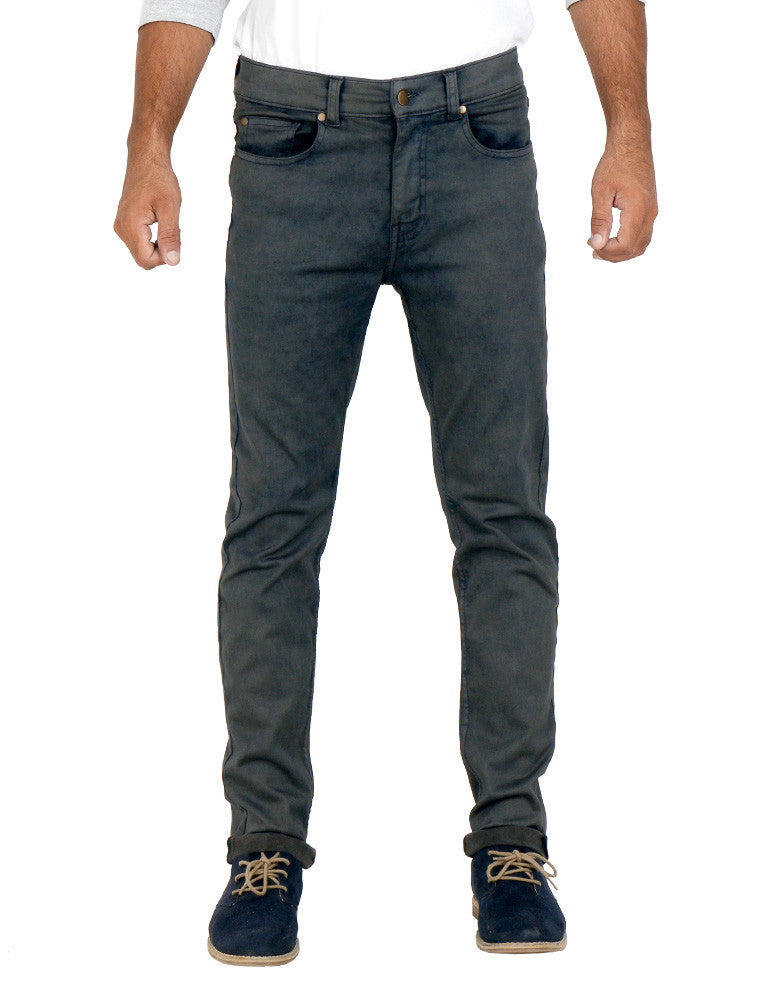 March Grey Skinny Jeans for Men