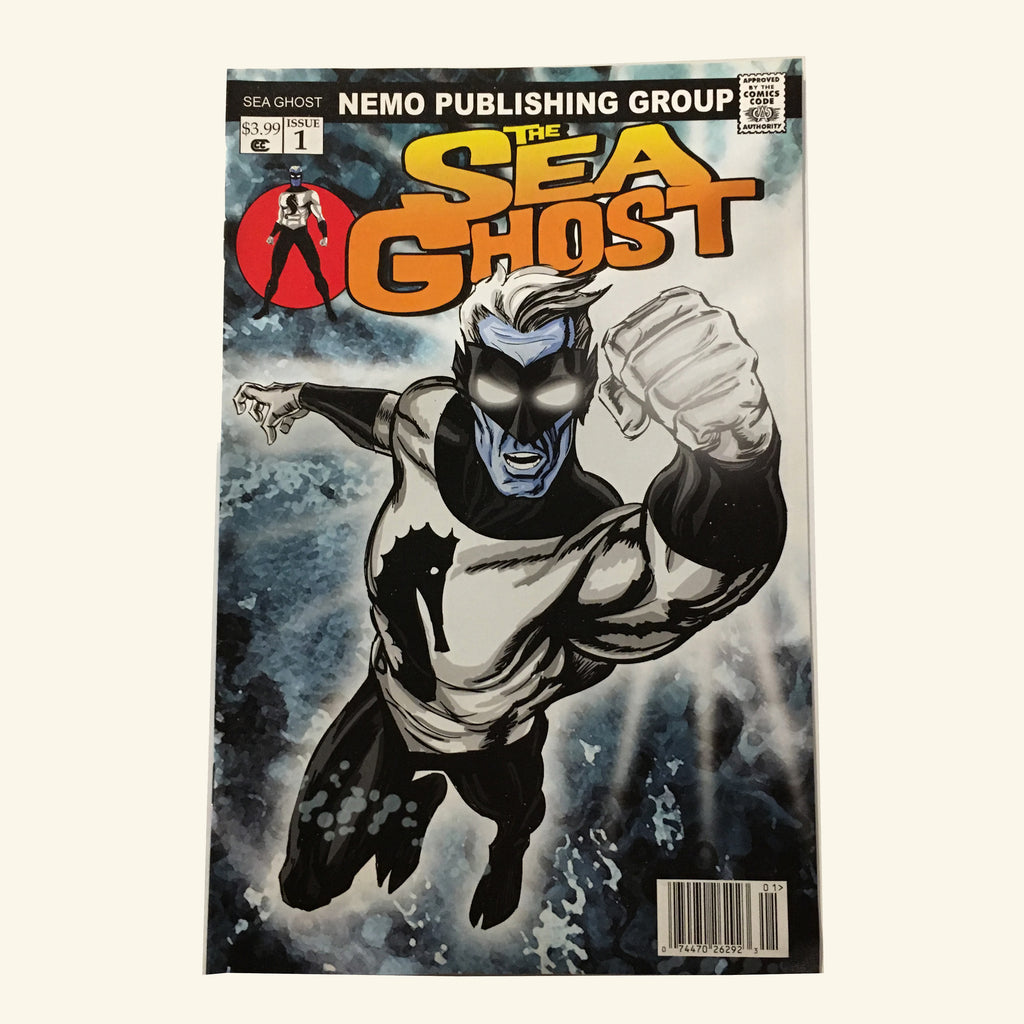 The Sea Ghost Comic Book