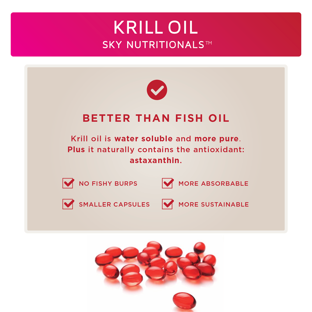 Sky Nutritionals™ Krill Oil