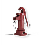 The hand-pump: for clean water and Tobias' biceps | Charity Gifts support WaterAid