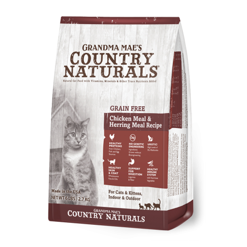 Country Naturals 低敏無穀雞肉鯡魚配方 Grain Free Chicken & Herring Recipe (3,6,12lbs)