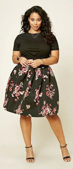 Plus Size Womens Skirts