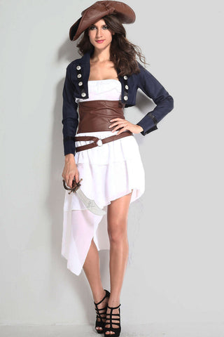 Role Play Colonial Pirate Costume