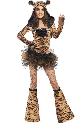 Tiger Fever Fantasy Party Costume