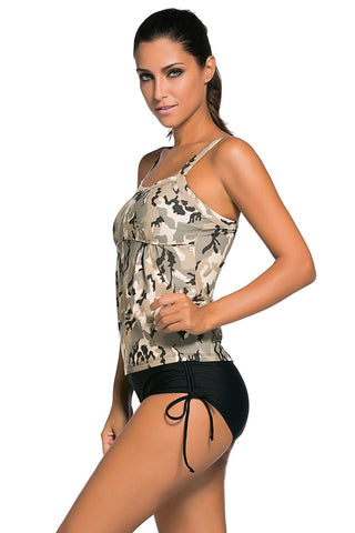 Summer Print Swimsuit Tankini - Boldgal.com