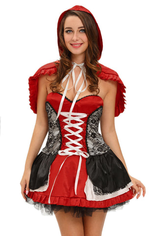 Little Red Riding Hood Strapless Costume