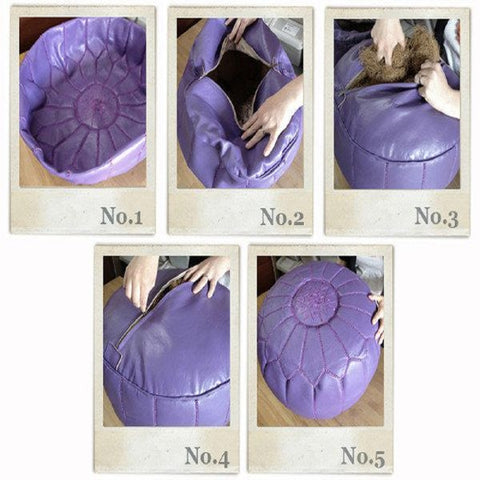 How To Fill My Moroccan Pouf