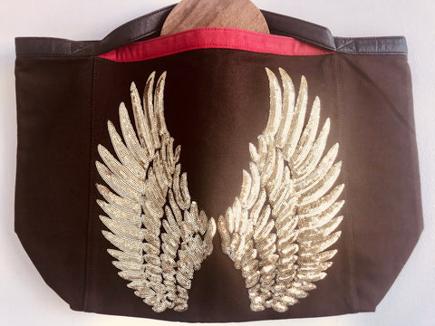Designer- one of a kind - Wing Bag
