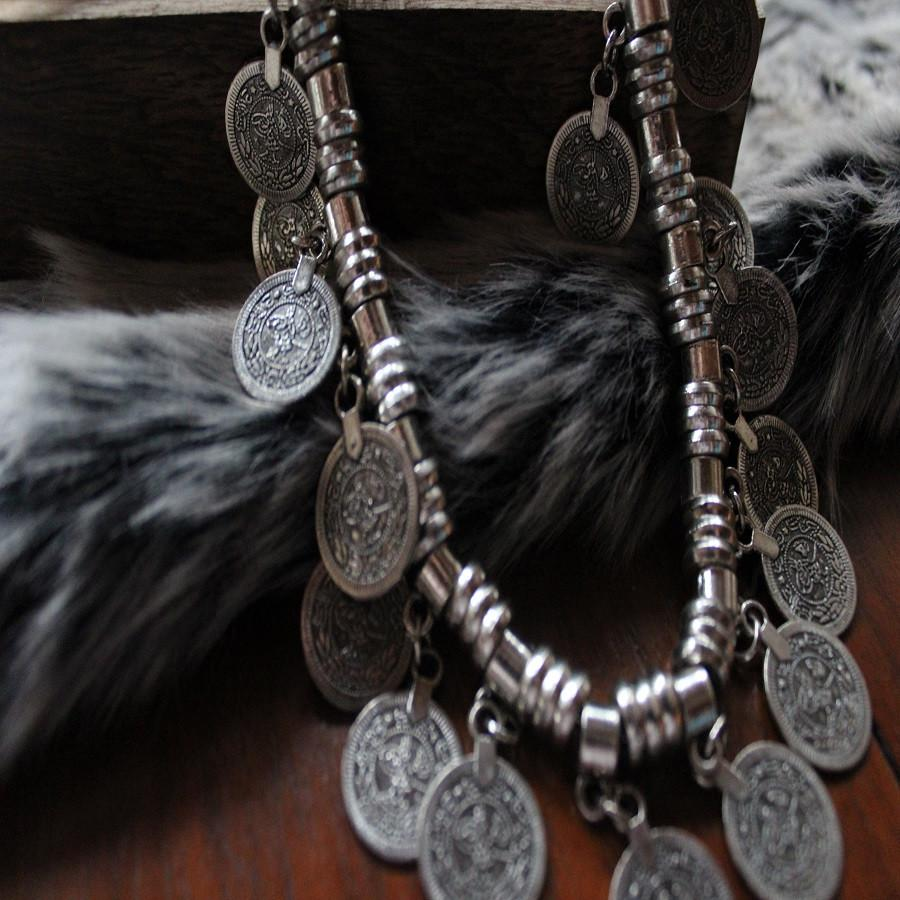 World Finds Gypsy Coin Necklace
