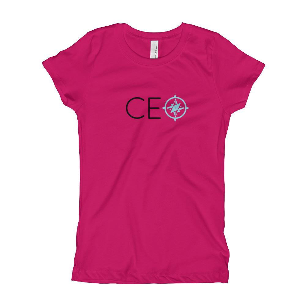 Girl's T-Shirt- For our little one-CEO