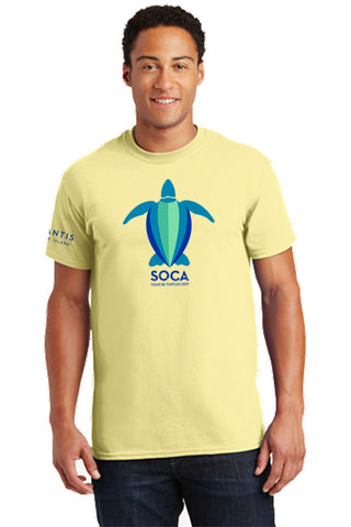 Mens 100% Cotton T-Shirt - SOCA: Tour de Turtles - Shop Atlantis Bahamas