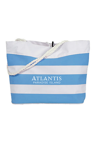 Striped Cabana Rope Tote Bag - Shop Atlantis Bahamas