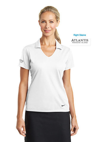 Nike Golf Ladies Dri-FIT Vertical Mesh Polo - Shop Atlantis Bahamas