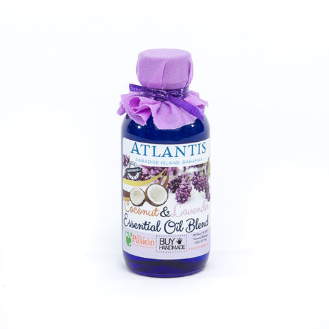 Coconut & Lavender Massage Oil 2oz - Shop Atlantis Bahamas