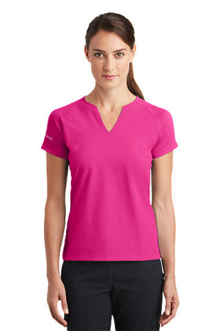 Nike Golf Ladies Dri-FIT Stretch Woven V-Neck Top - Shop Atlantis Bahamas