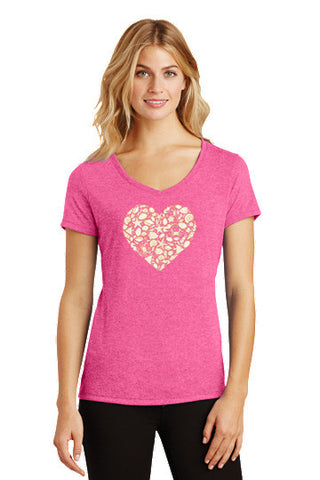 Heart V-Neck Tee - Shop Atlantis Bahamas