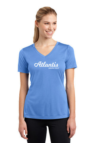 Atlantis Moisture Management V-Neck T-Shirt - Shop Atlantis Bahamas