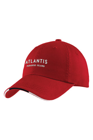 Sandwich Bill Cap with Striped Closure - Shop Atlantis Bahamas