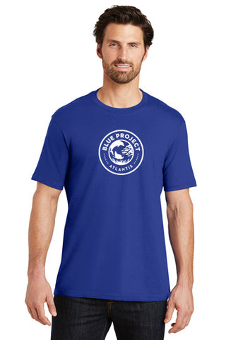 District Made® Mens Perfect Weight® Crew Tee - Blue Project - Shop Atlantis Bahamas